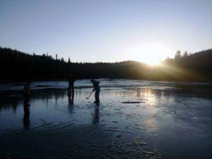 Norsko_hokej na lade